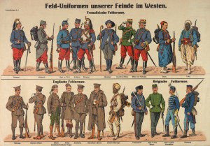 Field Uniforms of our Enemies in the West