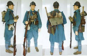 WWI French Uniform Sky Blue